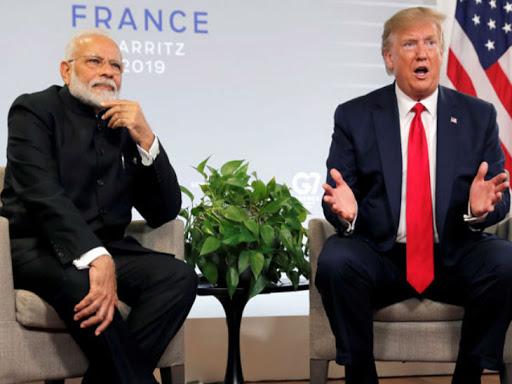 राष्ट्रपति ट्रम्प बोले- भारत व्यापार में हमें बड़ी चोट पहुंचा रहा, लोग पसंद करें या नापसंद अमेरिका को हमेशा आगे रखेंगे|देश,National - Dainik Bhaskar