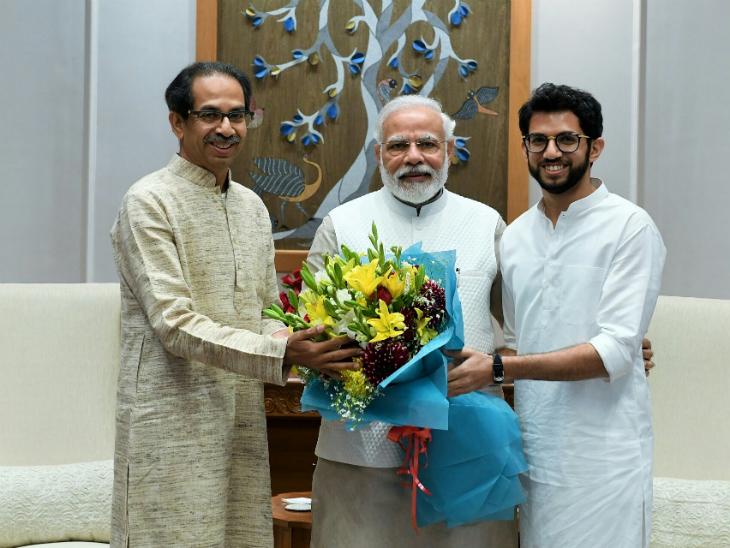 प्रधानमंत्री मोदी से मिले मुख्यमंत्री ठाकरे, कहा- सीएए और एनआरसी के मुद्दे पर हमारी कांग्रेस से बातचीत जारी, इसीलिए महाराष्ट्र में शांति है मुंबई,Mumbai - Dainik Bhaskar