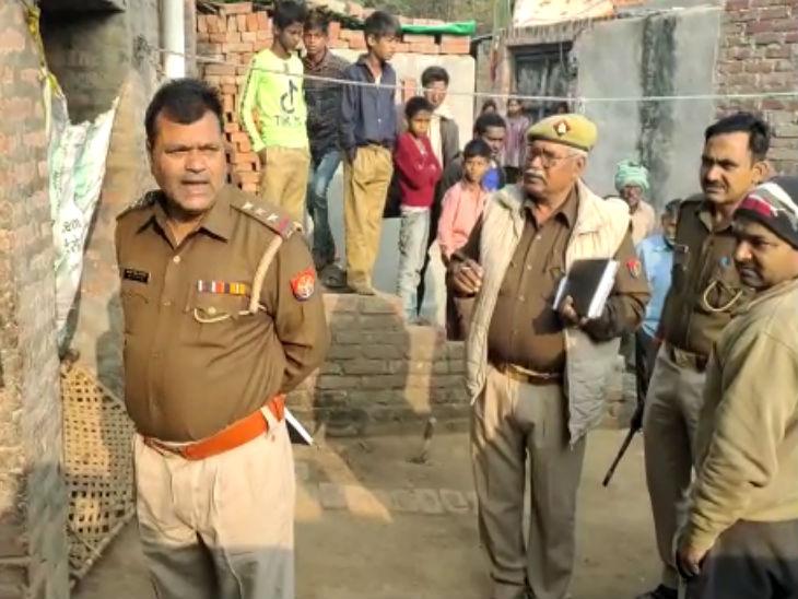 तंत्र साधना से महिला की बीमारी ठीक करने पहुंचे तांत्रिक की गला रेतकर हत्या; पूरा परिवार फरार|कानपुर,Kanpur - Dainik Bhaskar