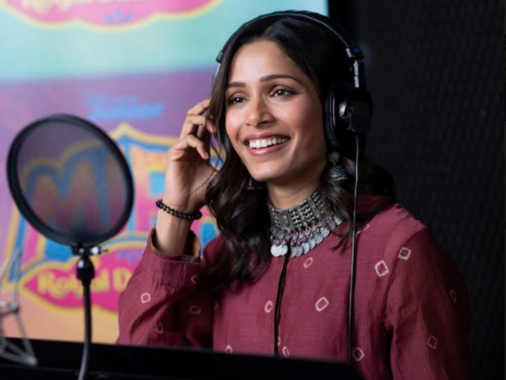 डिज्नी की एनिमेटेड सीरीज 'मीरा, रॉयल डिटेक्टिव' के लिए डबिंग करेंगी फ्रीडा पिंटो|बॉलीवुड,Bollywood - Dainik Bhaskar
