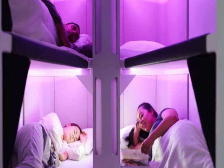 यह सेवा दुनिया की सबसे लंबी (ऑकलैंड से न्यूयॉर्क के बीच 17 घंटे 40 मिनट) उड़ानों में अक्टूबर में शुरू हो सकती है। - Dainik Bhaskar