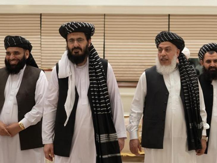 अमेरिका-तालिबान के बीच शांति समझौते पर हस्ताक्षर हुए देश,National - Dainik Bhaskar