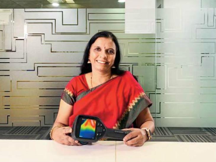 गीता की डिवाइस 15 मिनट में ही ब्रेस्ट कैंसर का पता लगा लेती है, 25 हजार महिलाओं की जांच हुई; 30 अस्पतालों में उपलब्ध|देश,National - Dainik Bhaskar