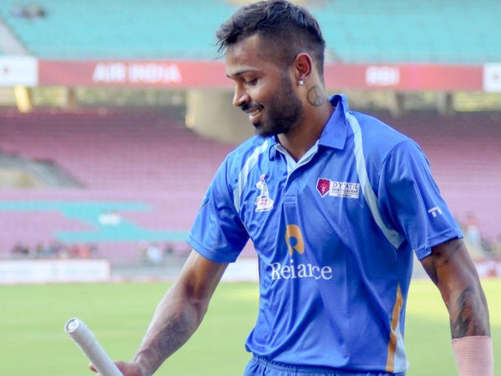 हार्दिक पंड्या ने 55 गेंद पर 158 रन की पारी खेली, 20 छक्के और 6 चौके जड़े|क्रिकेट,Cricket - Dainik Bhaskar