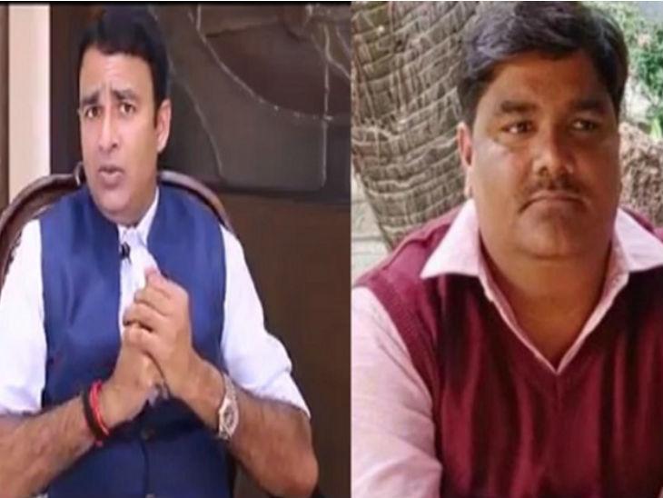 भाजपा विधायक संगीत सोम ने ताहिर हुसैन को बताया आतंकवादी, कहा- ऐसे लोगों को गोली मार देनी चाहिए|मेरठ,Meerut - Dainik Bhaskar
