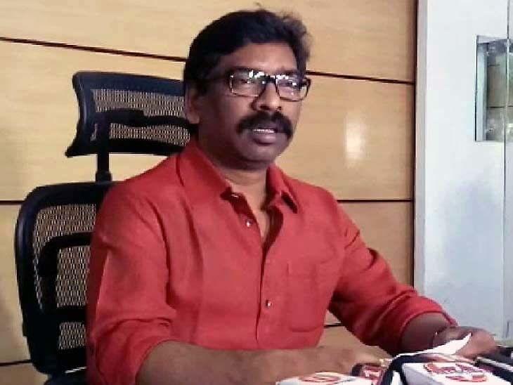 मुख्यमंत्री हेमंत सोरेन। - Dainik Bhaskar