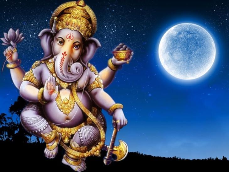 The story of Ganesh Chaturthi vrat, ganesh ji and Chandra Dev katha, ganesh  chaturthi on 12 march | गणेश चतुर्थी व्रत की कथा जुड़ी है चंद्रदेव से, इस  दिन चंद्र दर्शन करने