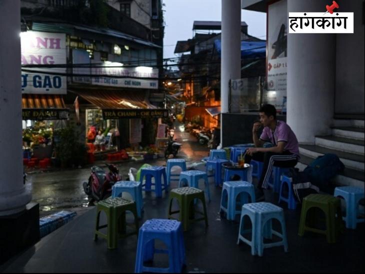 हांगकांग की लैन क्वै फोंग में आमतौर पर भरे रहने वाले बार, रेस्तरां और कैफे खामोश हो गए हैं।
