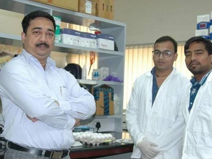 आईआईटी कानपुर के प्रो. अमिताभ बंदोपाध्याय (बाएं) ने एक हजार पोर्टेबल वेंटिलेटर तैयार करने को कहा है।