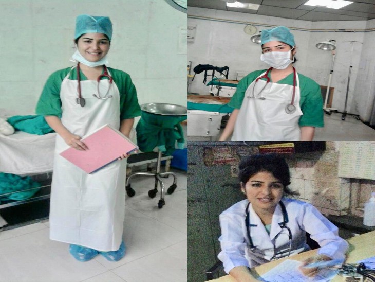 एक्ट्रेस शिखा मल्होत्रा ने शुरू की नर्स की ड्यूटी,  मुंबई के एक हॉस्पिटल में कर रही हैं मरीजों का इलाज|मुंबई,Mumbai - Dainik Bhaskar
