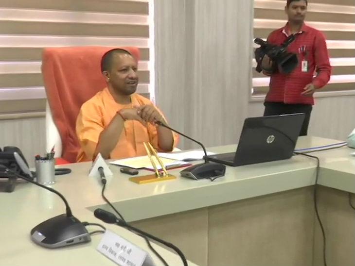 मुख्यमंत्री योगी ने 27.5 लाख मनरेगा मजदूरों के खाते में भेजे 611 करोड़ रुपए, कई लोगों से बात भी की|लखनऊ,Lucknow - Dainik Bhaskar