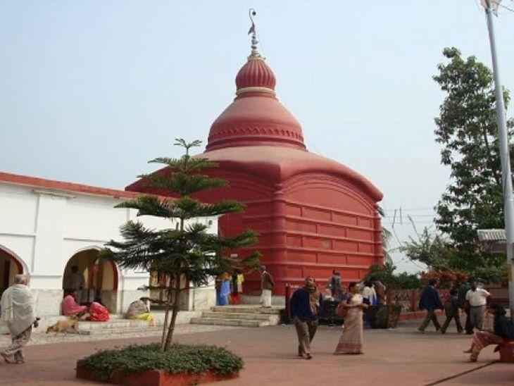 त्रिपुर सुंदरी शक्तिपीठ मंदिर।