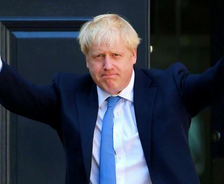 ब्रिटेन के प्रधानमंत्री बोरिस जॉनसन को लंदन के सेंट थॉमस अस्पताल से रविवार को सातवें दिन डिस्चार्ज कर दिया गया। (फाइल फोटो) - Dainik Bhaskar