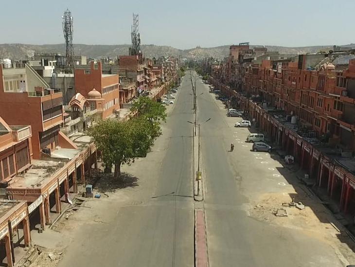 जयपुर में परकोटा खरीददारी का बड़ा केंद्र हैं। रामगंज इसी इलाके में आता है। लेकिन अब यहां सन्नाटा पसरा हुआ है।