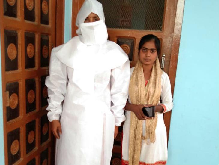 लखीमपुर खीरी में स्वयं सहायता समूह की महिलाओं ने बनाया पीपीई, आर्मी ने दो हजार किट का दिया ऑर्डर उत्तरप्रदेश,Uttar Pradesh - Dainik Bhaskar