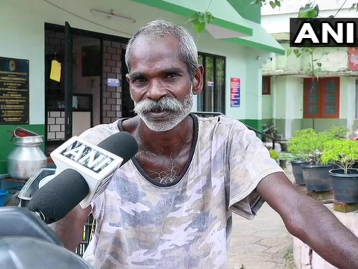 100 रुपए मजदूरी कमाने वाले गिरीश पुलिस के जवानों को खाने के पैकेट पहुंचा रहे, बोले- पुलिस अपनी ड्यूटी निभा रही और मैं अपनी लाइफ & साइंस,Happy Life - Dainik Bhaskar