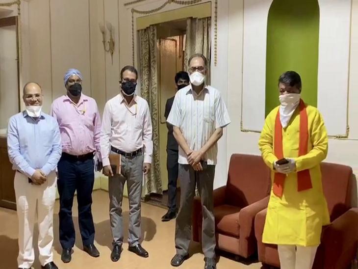 विजयवर्गीय बोले- इंदौर में स्थिति नियंत्रण में, संक्रमण का एक पीरियड होता है, इससे ज्यादा अब नहीं बढ़ेगा|इंदौर,Indore - Dainik Bhaskar