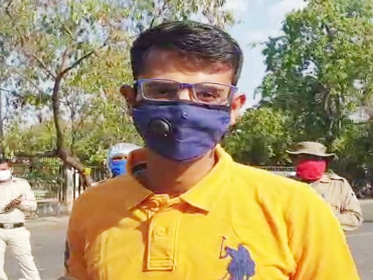 आईपीएस अधिकारी आदित्य मिश्रा ने कहा - सावधानी ही इसका बचाव है।