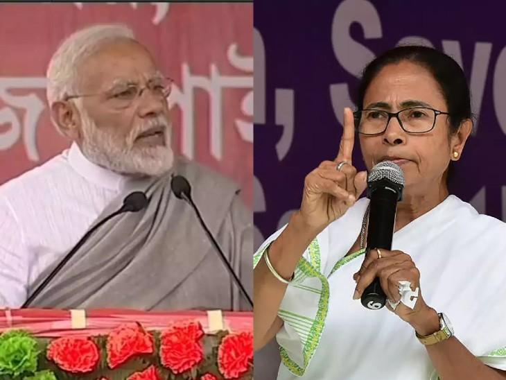 तृणमूल का आरोप- राजनीतिक संक्रमण फैलाने आई थी केंद्र की टीम; मोदी के मंत्री बोले- सच सामने आया तो बौखला गईं ममता देश,National - Dainik Bhaskar