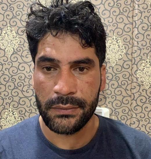 अमृतसर से पकड़ा गया हिजबुल मुजाहिद्दीन का आतंकवादी हिलाल अहमद।