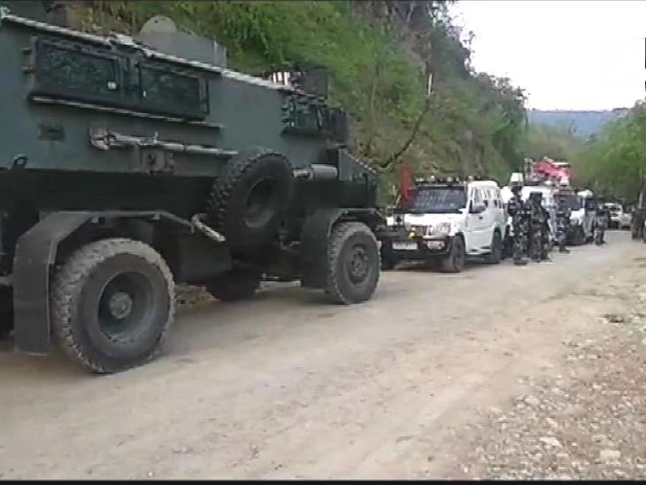 कुलगाम एनकाउंटर में मारा गया आतंकवादी कश्मीर पुलिस के एएसआई का बेटा था, एमटेक की पढ़ाई कर रहा था|देश,National - Dainik Bhaskar
