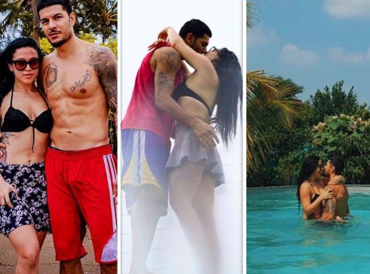 ब्वॉयफ्रेंड इबन के साथ रोमांटिक हुईं कृष्णा श्रॉफ, सोशल मीडिया पर सामने आईं किस करते हुए तस्वीरें बॉलीवुड,Bollywood - Dainik Bhaskar