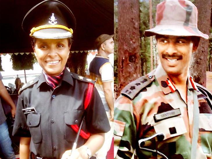 कर्नल संतोष महाडिक की पत्नी स्वाती महाडिक ने 2017 में सेना ज्वाइन की है।