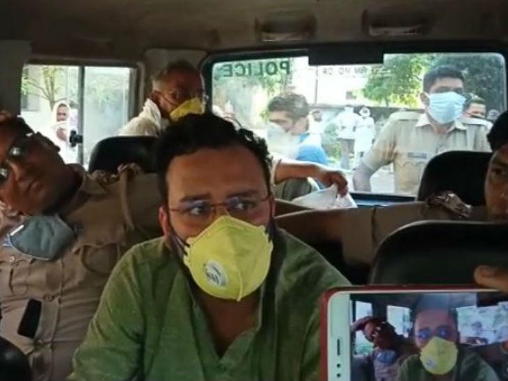 निर्दलीय विधायक अमनमणि निजी मुचलके पर रिहा, मगर अभी 14 दिन क्वारैंटाइन रहना होगा उत्तरप्रदेश,Uttar Pradesh - Dainik Bhaskar