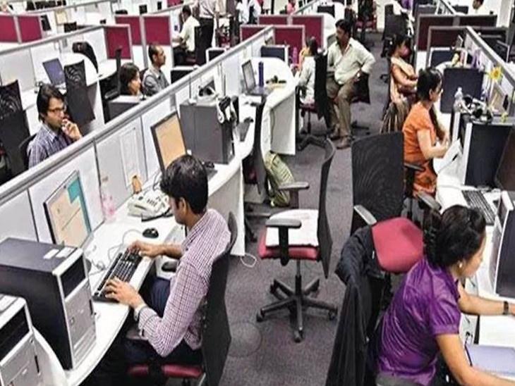 सेवा क्षेत्र की गतिविधियां अप्रैल में गिरकर रिकॉर्ड निचले स्तर पर, सर्विस पीएमआई इंडेक्स 49.3 से गिरकर 5.4 पर आया|इकोनॉमी,Economy - Dainik Bhaskar