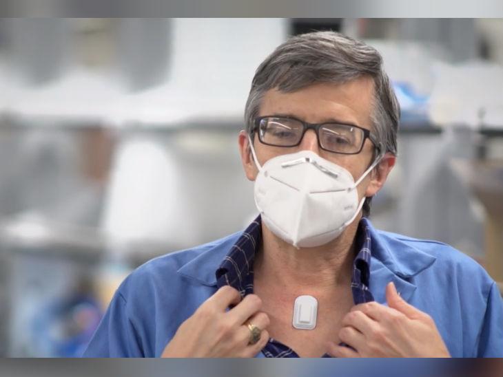 नॉर्थवेस्टर्न यूनिवर्सिटी के वैज्ञानिकों ने बनाया वायरलेस डिवाइस, व्यक्ति में कोरोनावायरस के लक्षण की देगा जानकारी लाइफ & साइंस,Happy Life - Dainik Bhaskar
