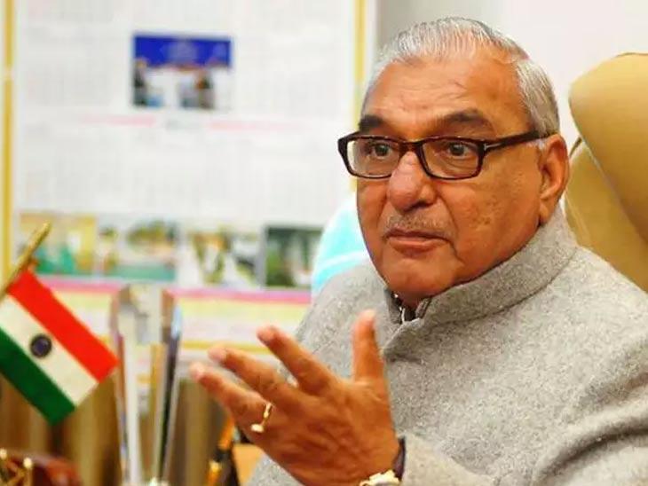 पूर्व सीएम भूपेंद्र सिंह हुड्डा बोले- इतना बड़ा काम खाली एसएचओ के बस की बात नहीं हरियाणा,Haryana - Dainik Bhaskar