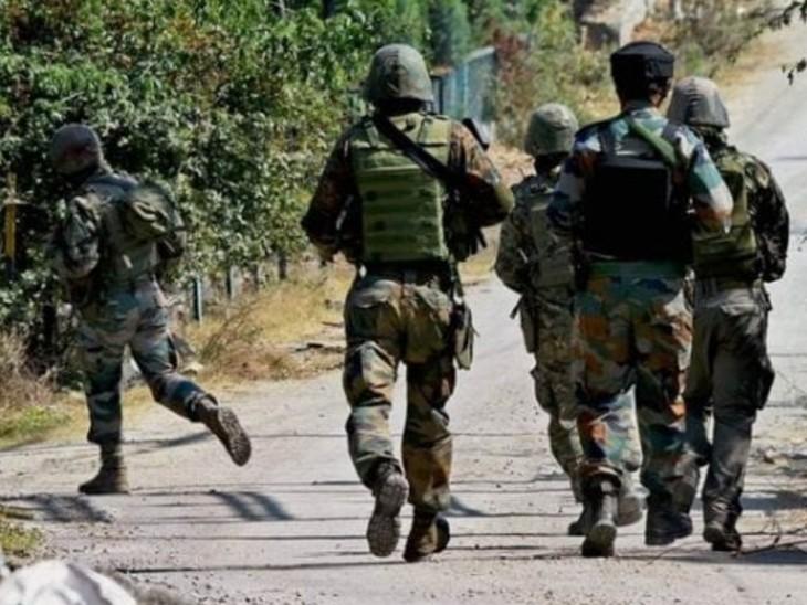 कुलगाम में सुरक्षाबलों के नाके पर आतंकी हमला, एक पुलिसकर्मी शहीद, पूरे इलाके में सर्च ऑपरेशन जारी|देश,National - Dainik Bhaskar