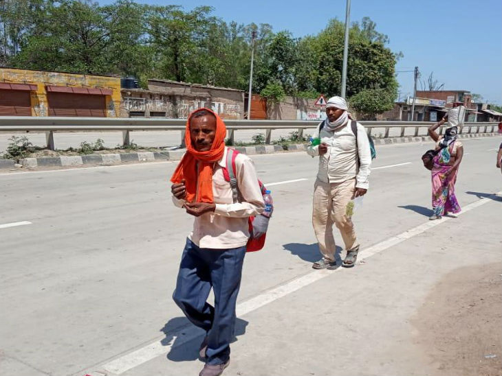भूखे पेट सफर करने से दिहाड़ी मजदूर की मौत, 14 मई को मुंबई से कन्नौज पहुंचा; यहां पैदल हरदोई जाते वक्त तबीयत बिगड़ी|उत्तरप्रदेश,Uttar Pradesh - Dainik Bhaskar