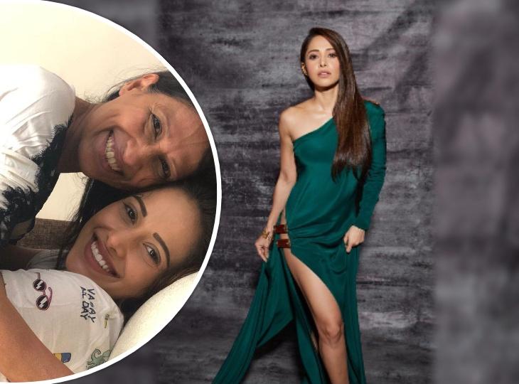 लॉकडाउन में नुसरत भरूचा की स्पेशल बर्थडे पार्टी, देर रात मां के साथ किया आमिर खान के गाने पर जमकर डांस|बॉलीवुड,Bollywood - Dainik Bhaskar
