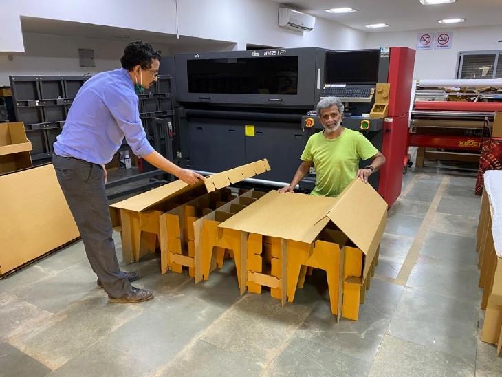 हरेश मेहता की कंपनी हर महीने 50 हजार से ज्यादा बेड का निर्माण करती है।