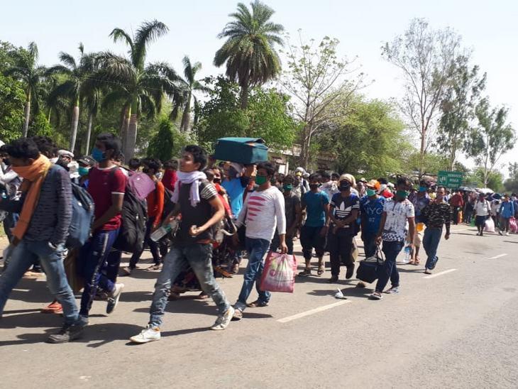 इनमें से ज्यादातर मजदूर यूपी और बिहार के रहने वाले हैं।
