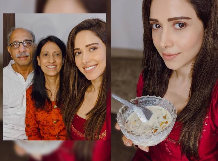 नुसरत भरुचा ने फैंस को दी ईद की मुबारकबाद, परिवार के साथ उठा रही हैं सेवई का लुत्फ बॉलीवुड,Bollywood - Dainik Bhaskar