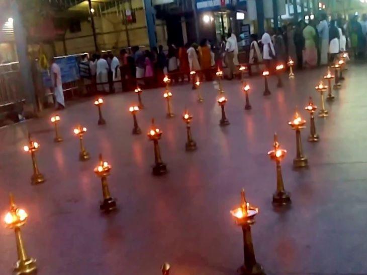 गुरुवायुर और सबरीमाला मंदिर के अलावा भी केरल के कई देवी मंदिरों में सुख-शांति और गृहस्थ सुख के लिए पीतल के बर्तनों और दीपकों का दान किया जाता है।