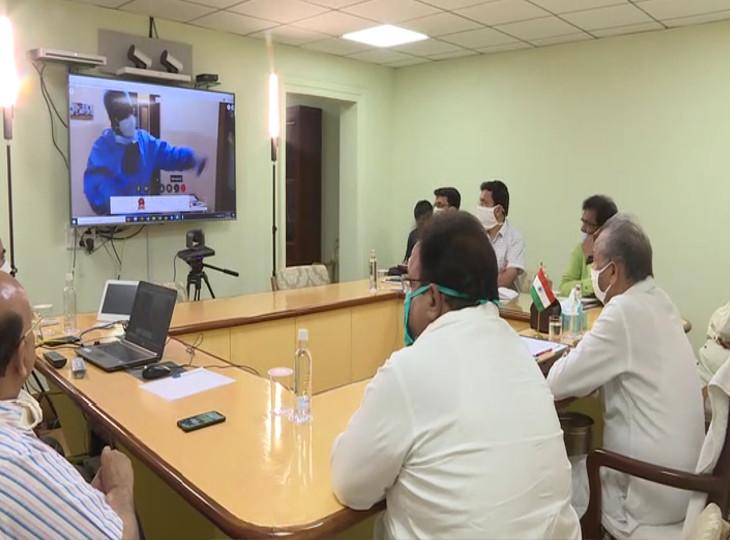 In the districts where corona testing facility is not available, labs will be set up soon: CM Gehlot | जिन जिलों मेंकोरोना टेस्टिंग की सुविधा उपलब्ध नहीं है, वहां जल्द ही लैब स्थापित की जाएंगी: सीएम गहलोत
