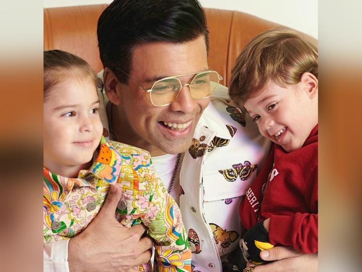 करण जौहर ने लिया बच्चों का स्क्रीन टेस्ट, यश ने क्यूटनेस के साथ दिए एक्सप्रेशन लेकिन रूही ने की मस्ती बॉलीवुड,Bollywood - Dainik Bhaskar