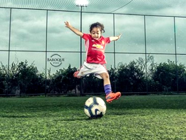 ईरान का आरत 9 माह की उम्र से मेहनत कर रहा, अब मेसी की तरह खेलने का सपना