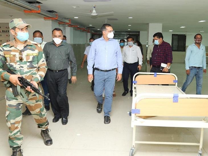 कोरोना के बढ़ते मरीजों की वजह से सुविधाएं बढ़ाने में जुटा प्रशासन, जल्द ही तैयार होगा 100 बिस्तरों का नया कोविड अस्पताल|छत्तीसगढ़,Chhattisgarh - Dainik Bhaskar