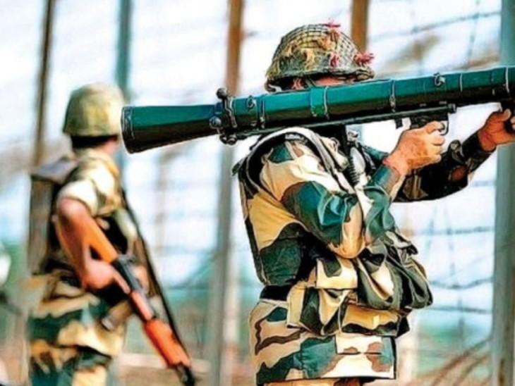 पाकिस्तान गोलाबारी की आड़ में दहशतगर्दों को कश्मीर में दाखिल करना चाहता है, लेकिन भारतीय जवान मुस्तैद हैं। (फाइल) - Dainik Bhaskar