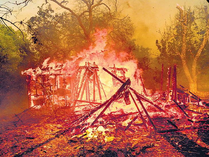 पिछले साल अक्टूबर में कैलिफोर्निया में आग के कारण 1 लाख लोगों को घर छोड़ना पड़ा था, 25 हजार से ज्यादा घर राख हो गए थे।