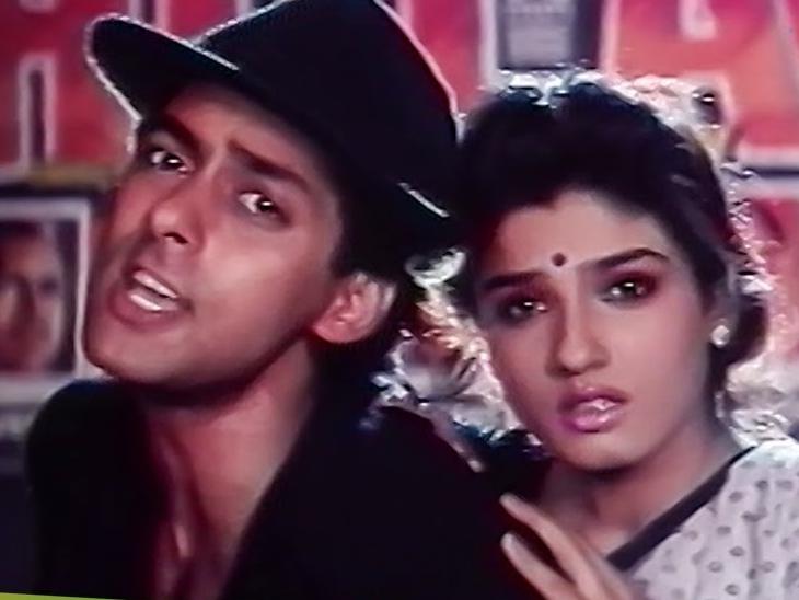 सलमान के साथ मिली थी रवीना को डेब्यू फिल्म, 29 साल बाद बोलीं- तब तक मैं हीरोइन नहीं बनना चाहती थी|बॉलीवुड,Bollywood - Dainik Bhaskar