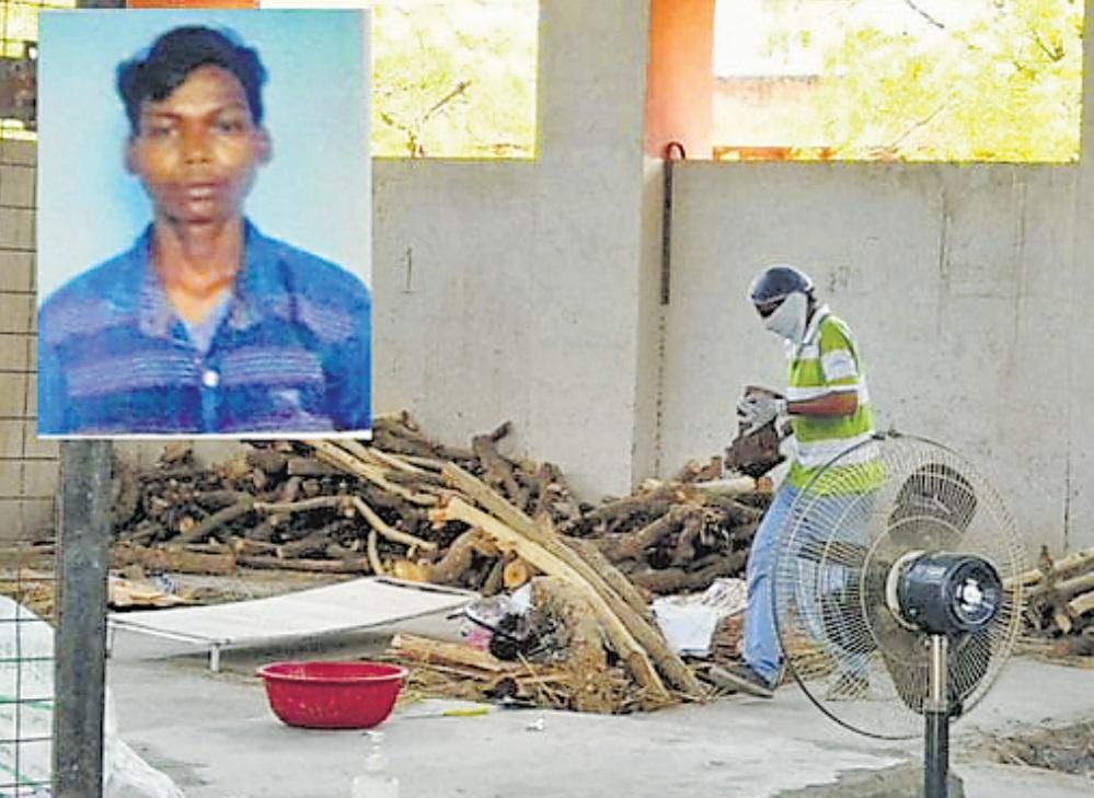 साजन के पिता ने वीडियो भेजकर पुलिस से कहा कि हम गरीब हैं आ नहीं सकते, अंतिम संस्कार कर दीजिए।