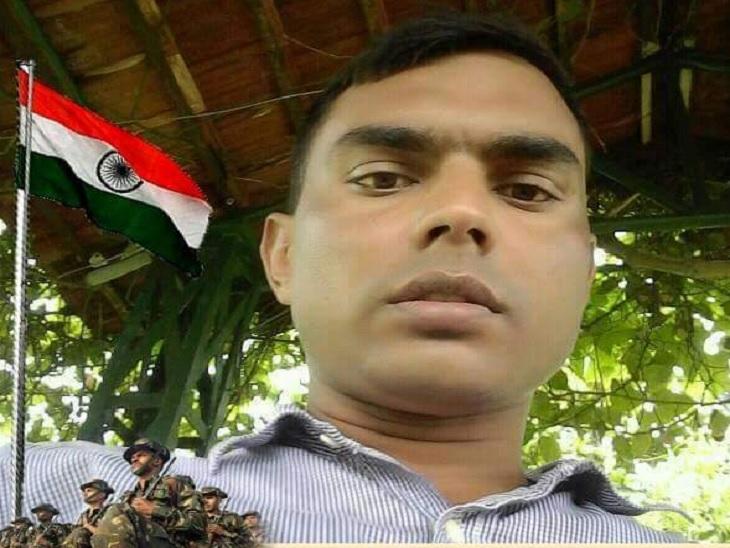 जवान सुनील कुमार ने फोन कर पत्नी को खुद के सुरक्षित होने की खबर दी।
