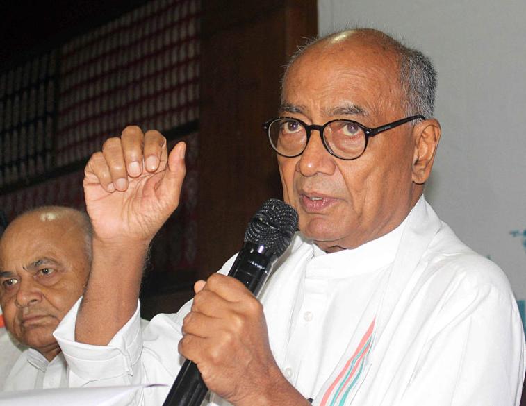 कांग्रेस नेता दिग्विजय सिंह का सरकार पर वार झूठ बोलना तो कोई बीजेपी से सीखे