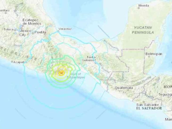 7.4 magnitude earthquake in Mexico; Buildings rocked, tens of thousands of people took to the streets in panic | मैक्सिको में 7.4 तीव्रता का भूकंप; इमारतें हिलीं, दहशत से हजारों लोग सड़कों पर आए, सुनामी का अलर्ट