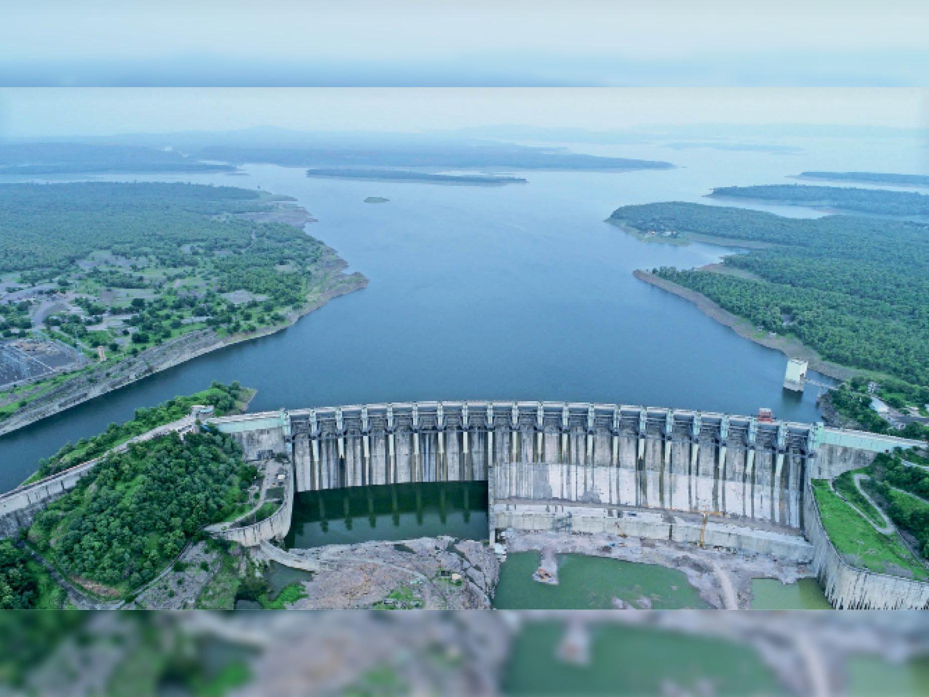 Image result for 7. Indira Sagar Dam